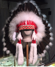 Native American Feathered Headress