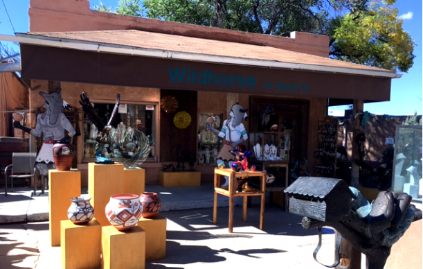 214 Old Santa Fe Rd Scupltures & Pottery